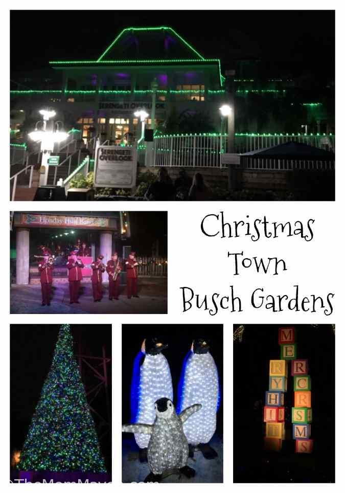 Christmas Town is taking place at Busch Gardens Tampa Bay on select nights through December 31st and is included in the price of admission