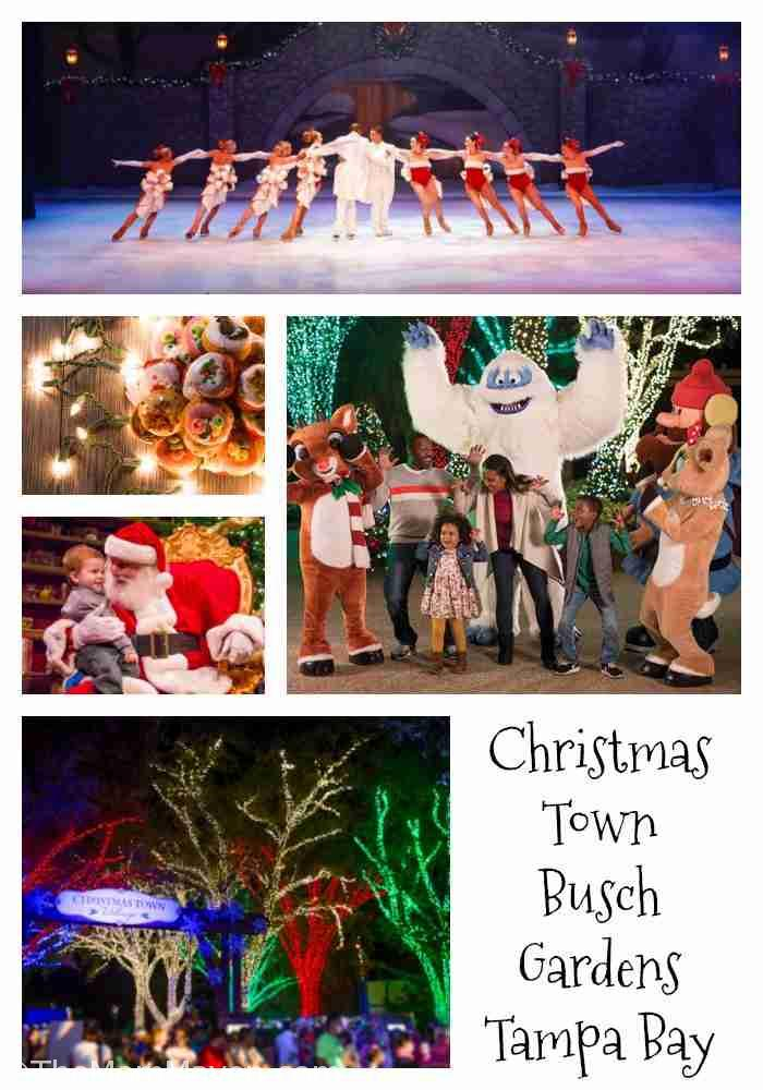 Christmas town at busch gardens tampa bay the mom maven - Busch gardens tampa christmas town ...