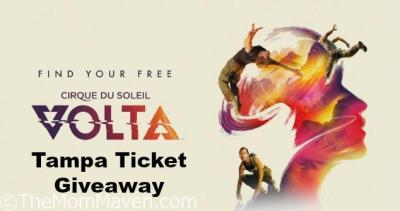 Cirque du Soleil VOLTA Tampa Ticket Giveaway