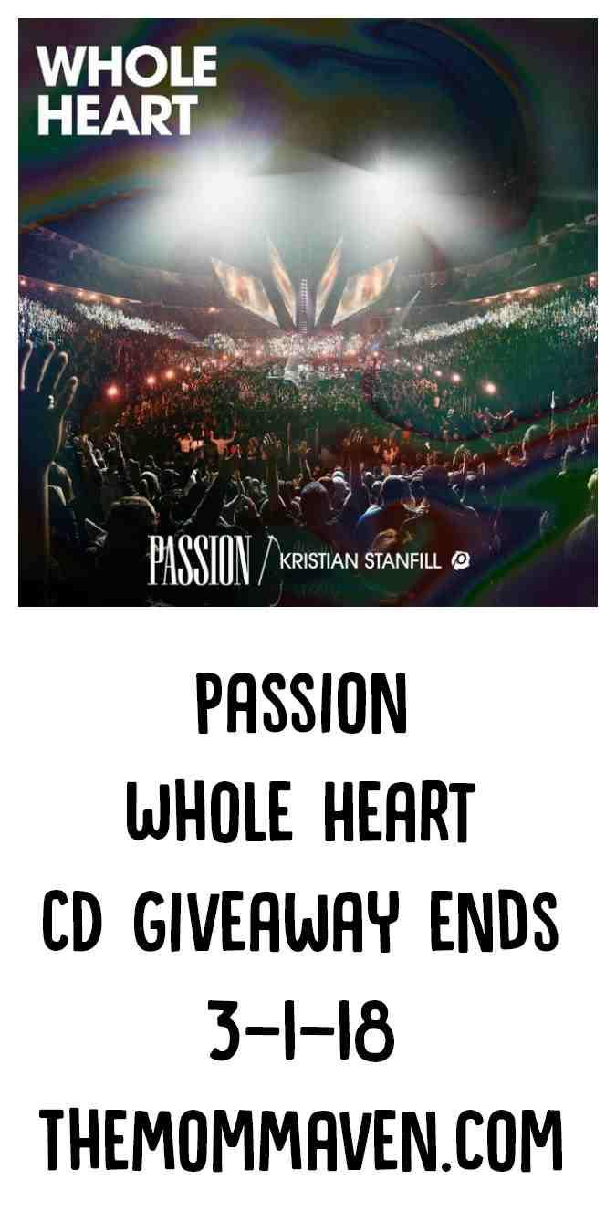 PassionWhole Heart is the live worship album from the 2018 Passion Conference which took place in January of this year. Passion Conference 2018 was a beautiful worship experience, and the live album captures each powerful moment, allowing those who were not in attendance to experience it.