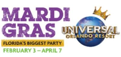 2018 Mardi Gras at Universal Orlando