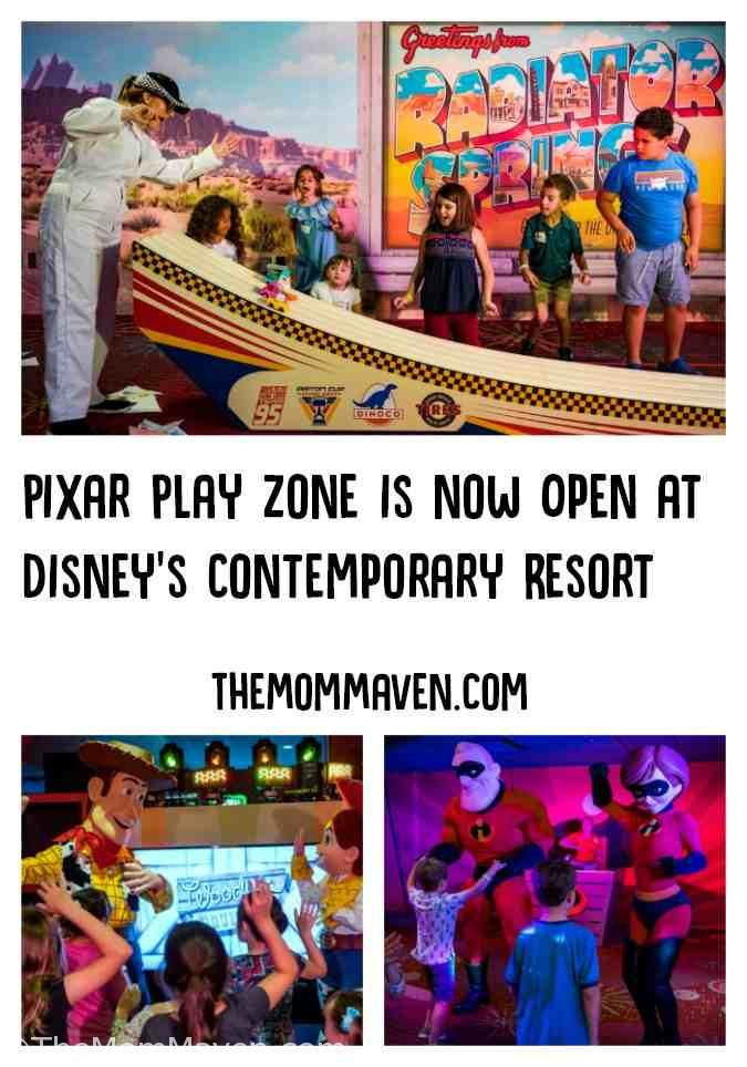 "The new Walt Disney World entertainment experience, Pixar Play Zone, is a pilot program that takes place nightly from 6-10:30 p.m. It transports young guests to a world full of excitement and adventure with their favorite characters from Disney•Pixar animated films ""Toy Story"" and ""The Incredibles!"""