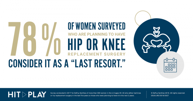 If you are dealing with knee pain, don't put your life on pause. Hit play, see a doctor and enjoy your favorite activities again.