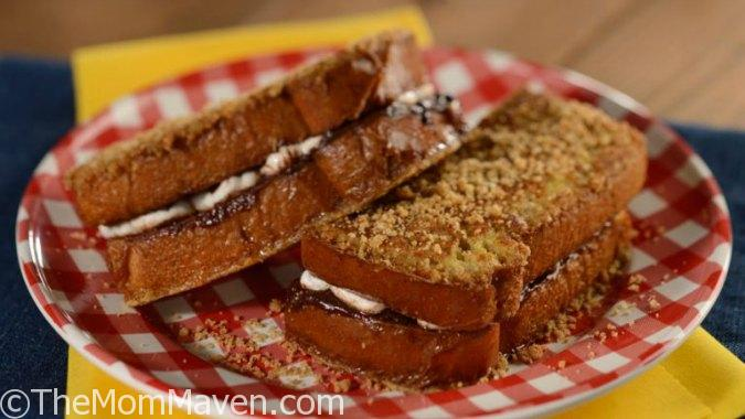 Woody's Lunch Box will feature S'more French Toast Breakfast Sandwich – Oozy goodness in a chocolate ganache- and marshmallow-stuffed French toast topped with graham cracker crumbles. Inspired by the classic American campfire treat.
