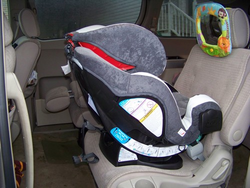 Under 2? Rear-facing for you!