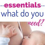 breastfeeding essentials/tips for new moms/ newborn baby/ nursing essentials