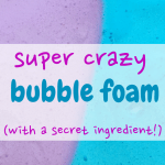 sensory play/sensory activities/toddler/kids/mom/bubble foam/parenting