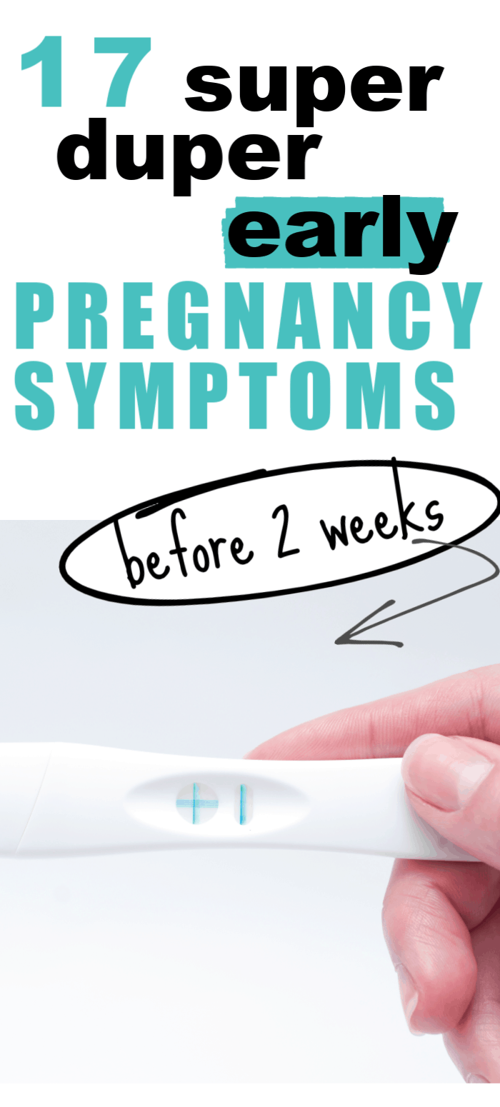 early pregnancy signs/early pregnancy symptoms