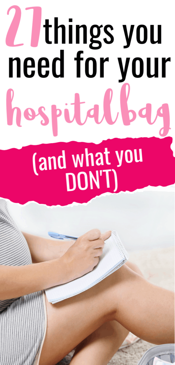 hospital bag checklist/what do i need in my hospital bag