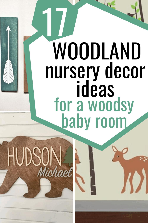 woodland nursery decor/woodland baby room