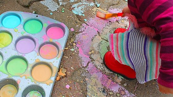 washable sidewalk chalk paint