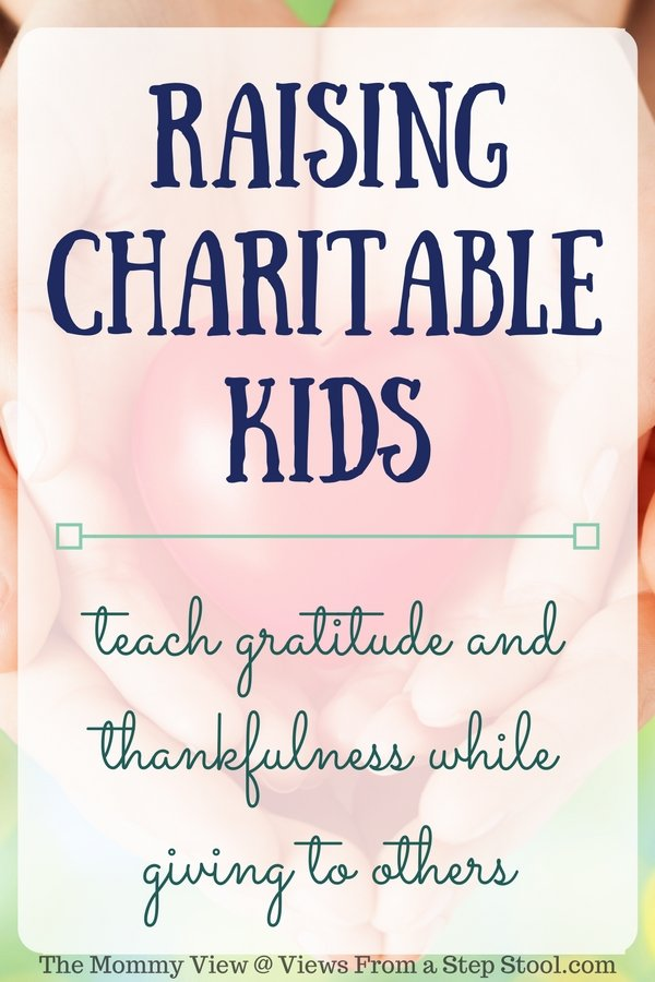 Gratitude and thankfulness are only half of the equation when raising charitable kids. Create a charitable culture with these simple ways to give back.