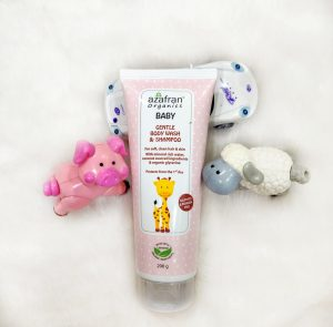 Azafran Baby Wash and Shampoo