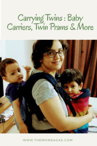 Carrying twins: Baby Carriers, Twin Prams and More