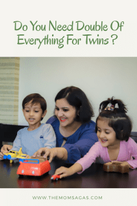 Do you need double of everything for twins?