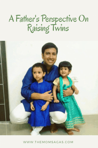 Father's perspective on raising twins