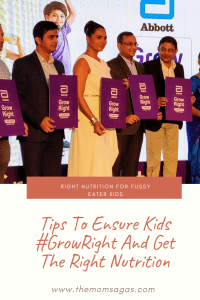Ensuring Right Nutrition For Fussy Eater Kids #GrowRight
