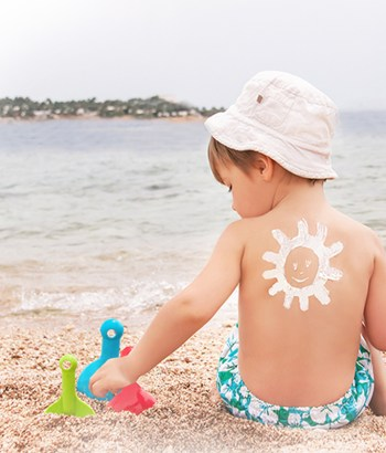Sunscreen for babies