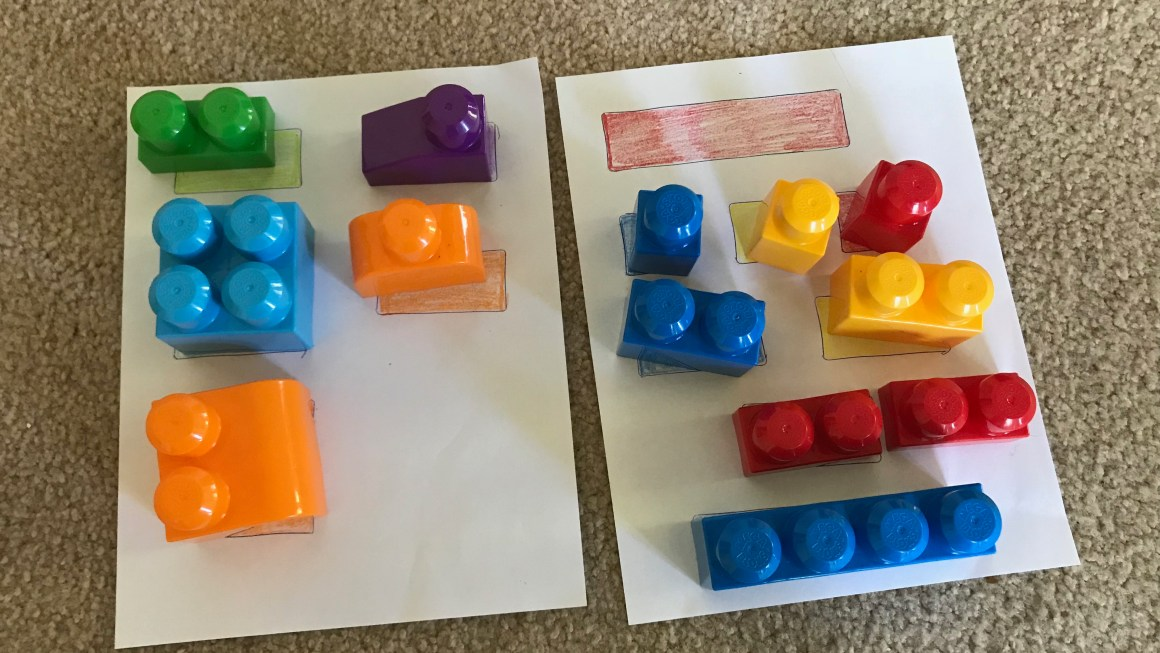 Activities for 18 to 24 months toddler Part 3-Color Sorting and Introduction of Shapes