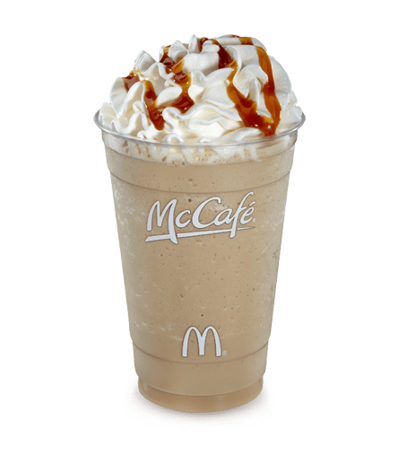McDonalds Frappe Caramel