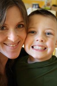 Alyssa Corley and son Brady