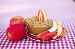 pb dip and apples