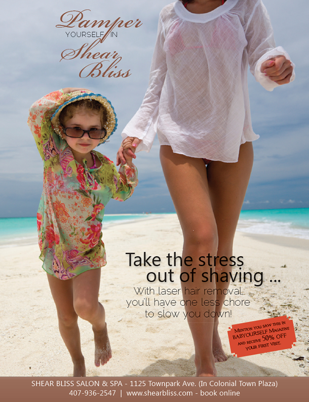 Pamper yourself in Shear Bliss
