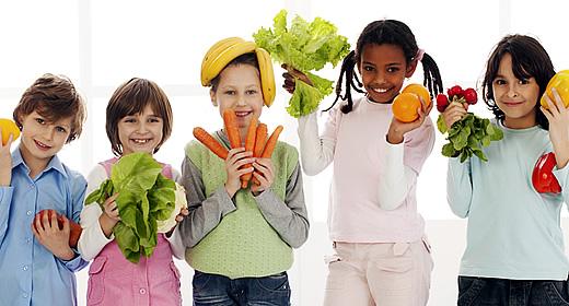 Kids need veggies