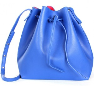 "Bucket Handbags - ""blue&pink bucket tote"" ($38.99) - sophieandtrey.com"