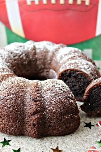 Chocolaty Chocolate Bundt Cake