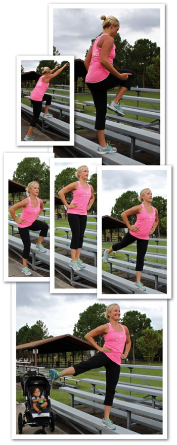 Quick-Knee Repeaters and Lateral Step Up with Side Abduction and Lift