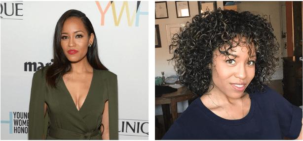 Dawn-Lyen Gardner Before and After Big Chop