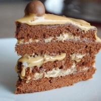 Layer cake chocolat dulce de leche