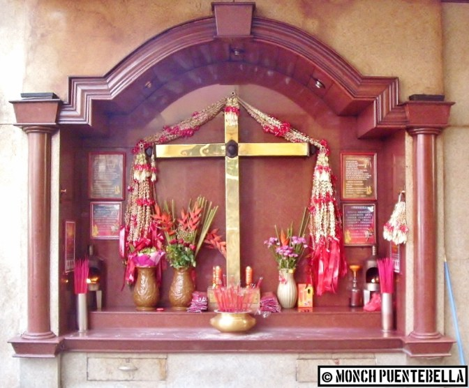 The Sto. Cristo De Longos Shrine: a perfect fusion of the Southeast and the Far East.