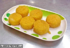 Breaded Scallop (P40 / 3 pieces): Best with hoisin and peanut sauce!