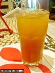 Home Made Iced Tea (P70): To be honest, I didn't find anything special in this, aside the fact that it's home-brewed.