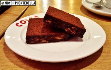 Eating this dessert might be difficult for some due to the texture.