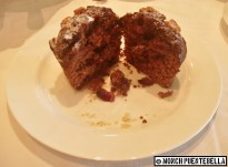 The Chocolate Muffin...which was rather crumbly.