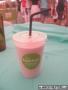 Strawberry shake from The Superfood Grocer.