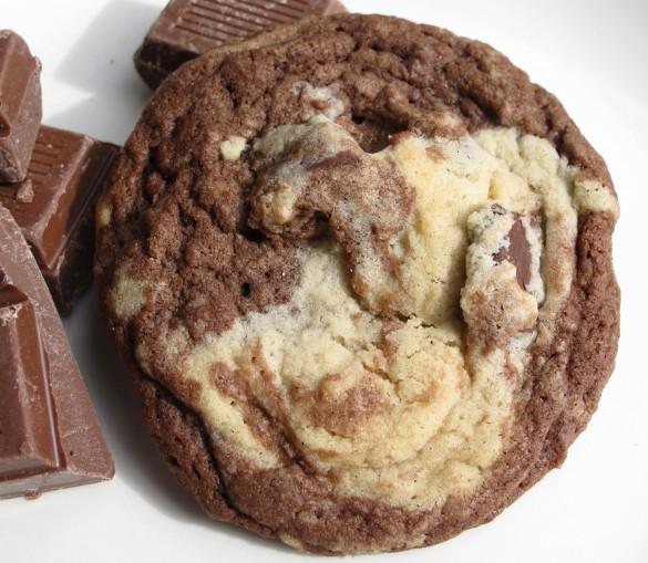 Marbled Chocolate Chunk Cookies