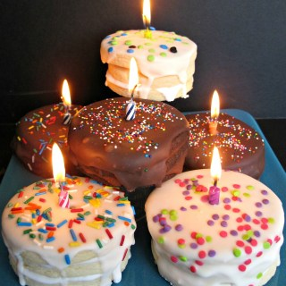 Birthday Cake Surprise Cookies