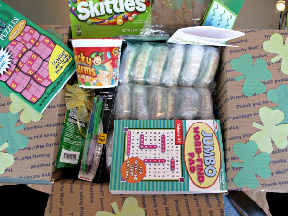 St. Patrick's Day Military Care Package