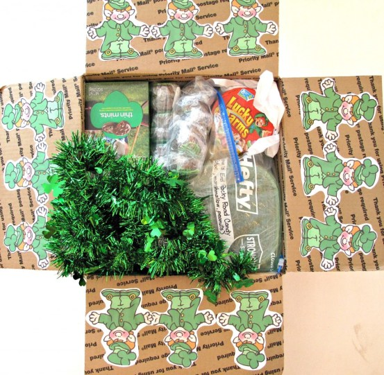 St. Patrick's Day Care Package | The Monday Box