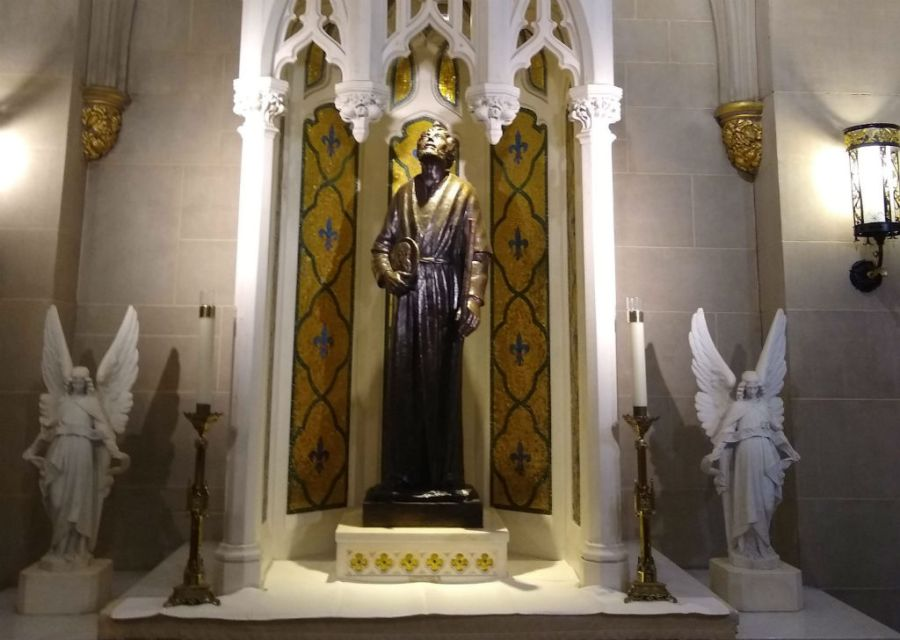 Statue of St Jude in St Patrick's Cathedral
