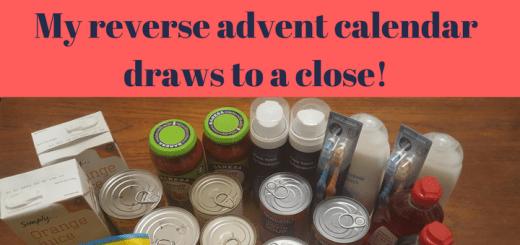 Reverse advent calendar draws to a close!