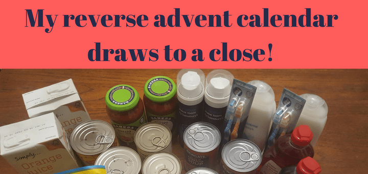 Reverse advent calendar draws to a close!