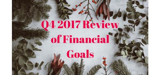Q4 2017 Review of Financial Goals