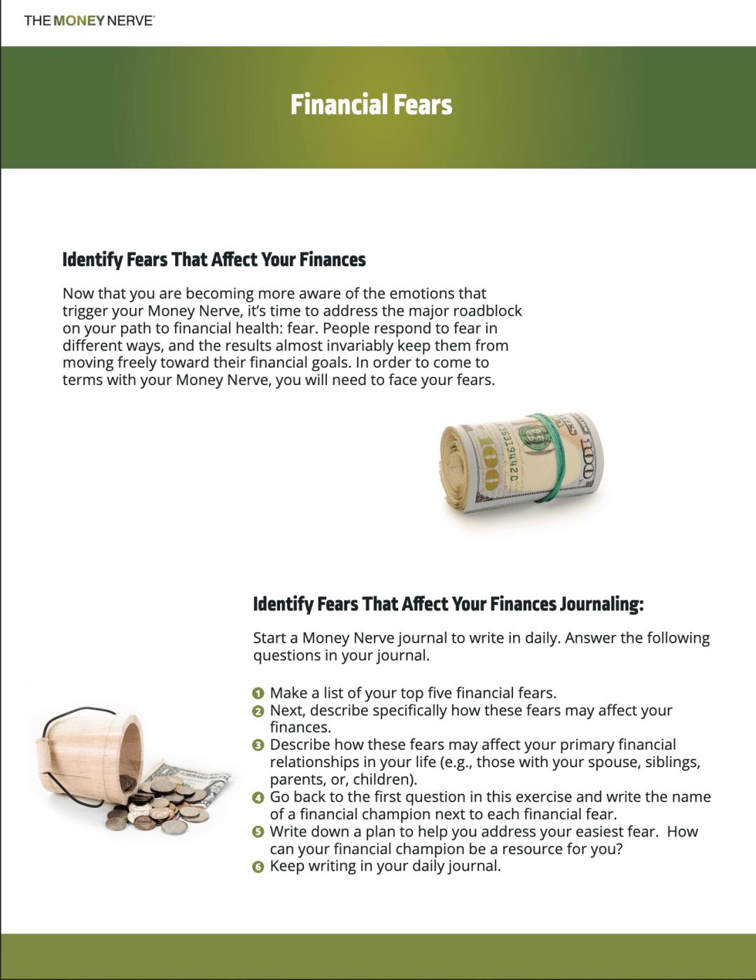 financial fears