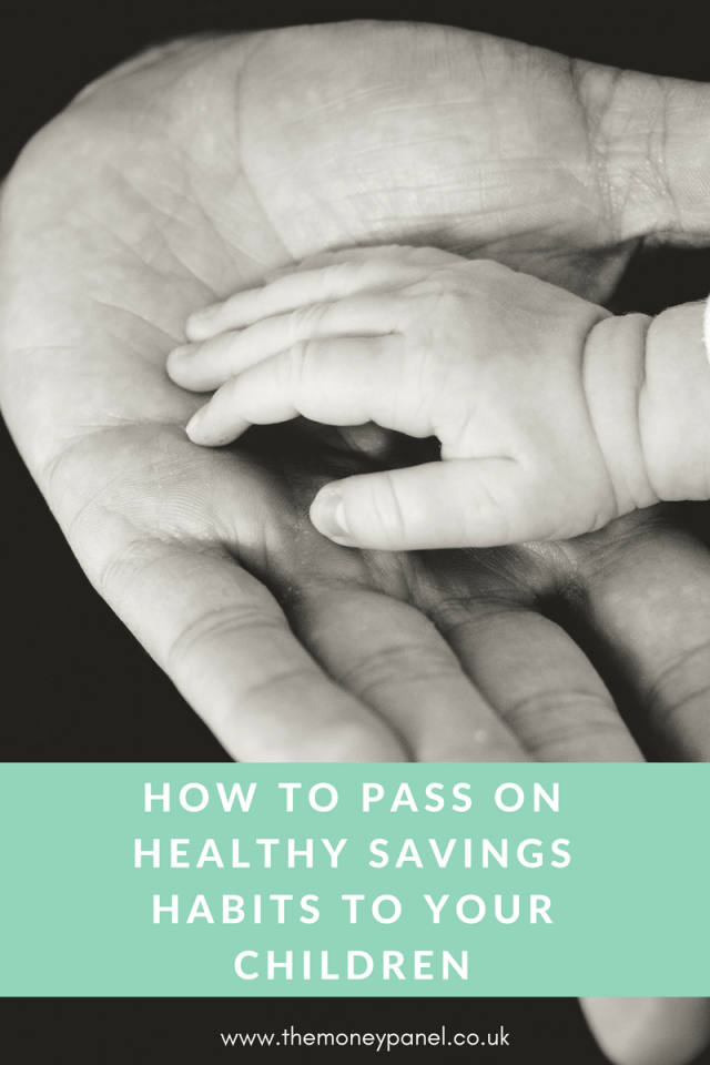 healthy savings habits for your children