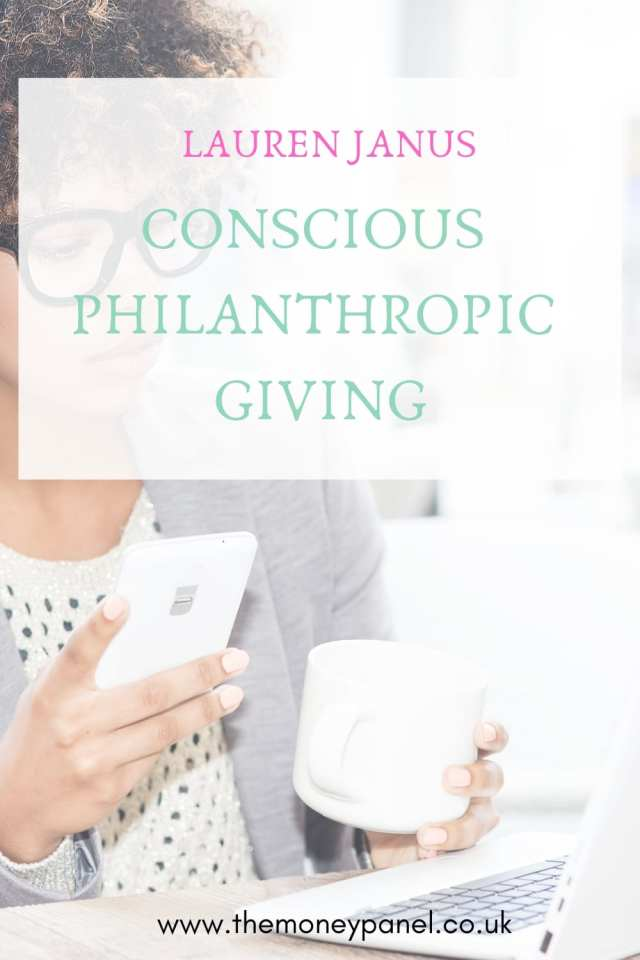 conscious philanthropic giving for women children and millennials with lauren janus